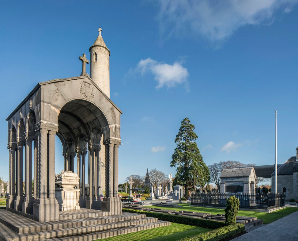 OConnell Tower at Glasnevin Cemetery