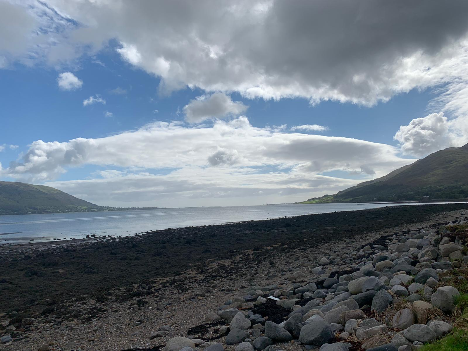 View from Carlingford, Co. Louth