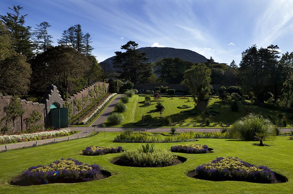 Kylemore Abbey Walled Gardens