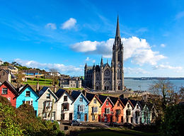 St Colman's Cathedral overlooking Cobh