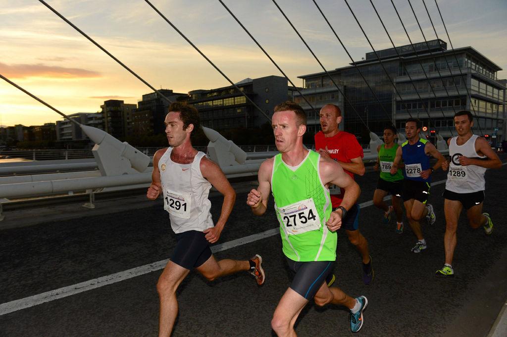 Running in Dublin