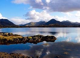 Lakes and mountains of Connemara