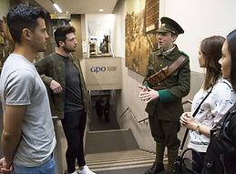 irish rebel army uniform at the gpo witness history experience