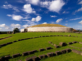 5000 year old structure of Newgrange