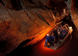 boat tour in Marble Arch Caves