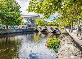 Bridge over River Carrwbeg in Westport, County Mayo