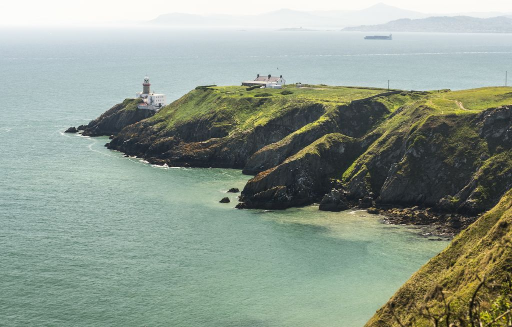 Howth Peninsula and Baily lighthouse