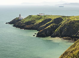 Howth peninsula and lighthouse