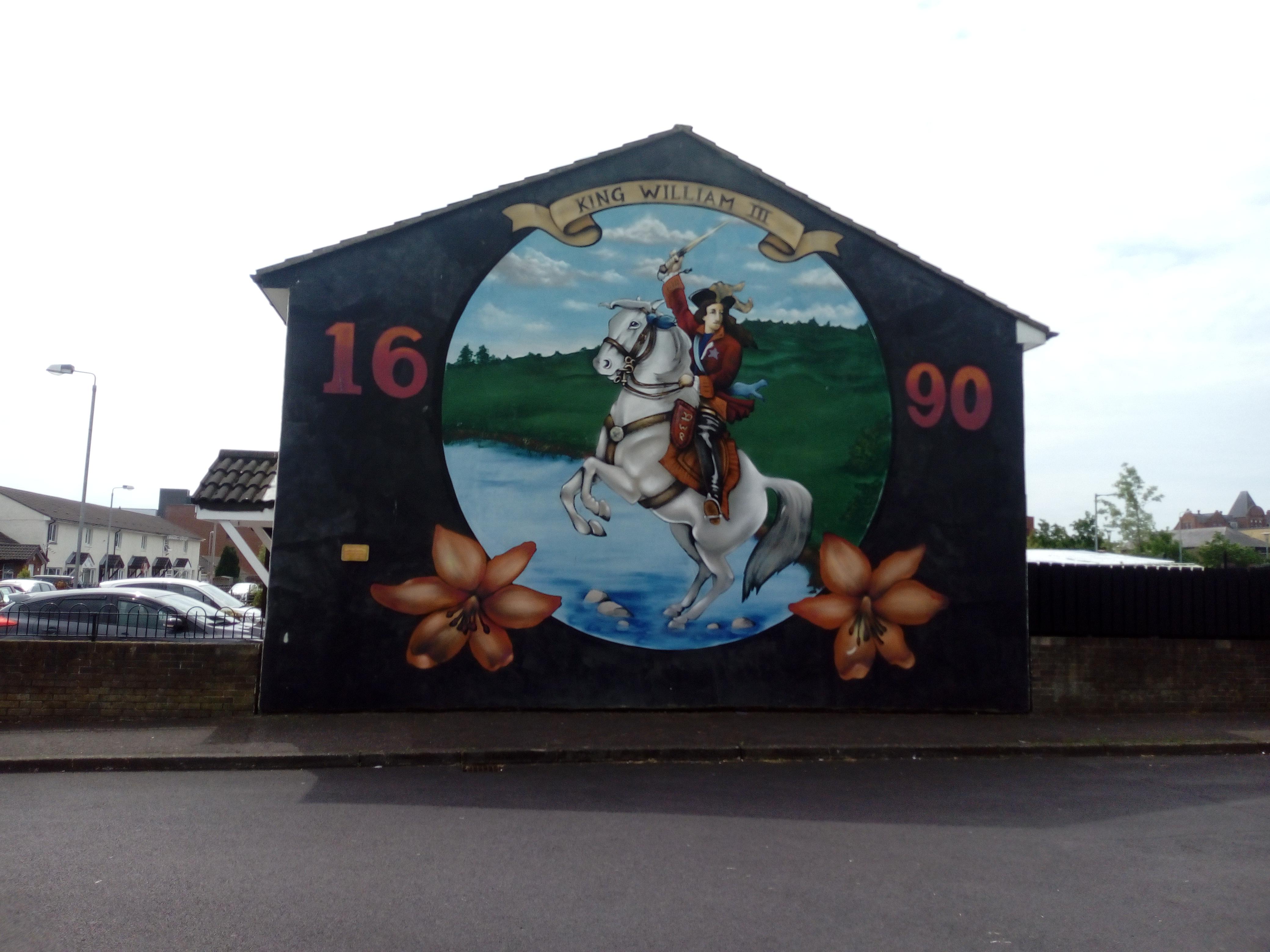 King Billy mural Belfast