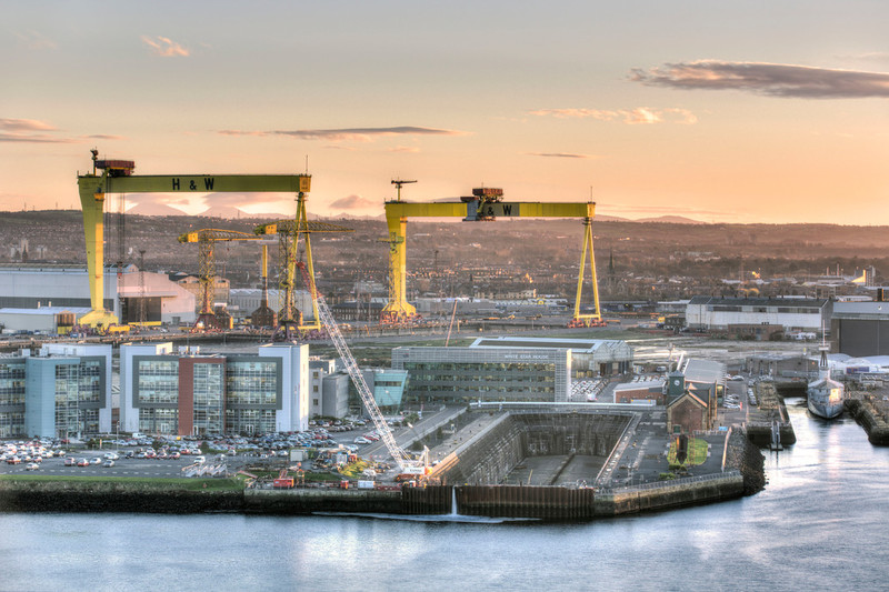 harland and wolff crane belfast