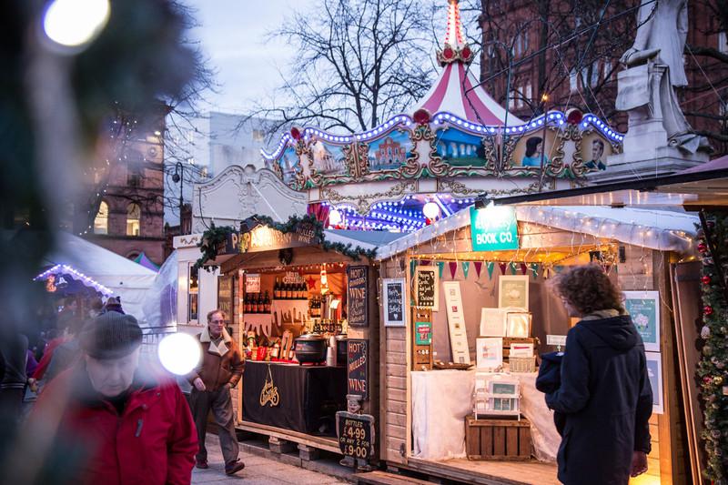 More stalls at Belfast Xmas Market