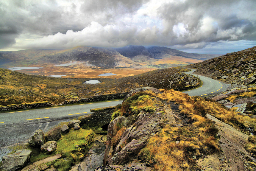 Road from Molls Gap on Ring of Kerry