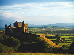 Rock of Cashel and Tipperary countryside