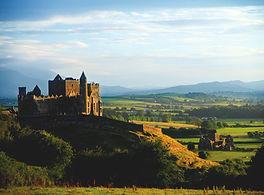 Rock of Cashel in Tipperary ins hadow
