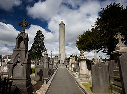 O'Connell's tower in Glasnevin Cemetery