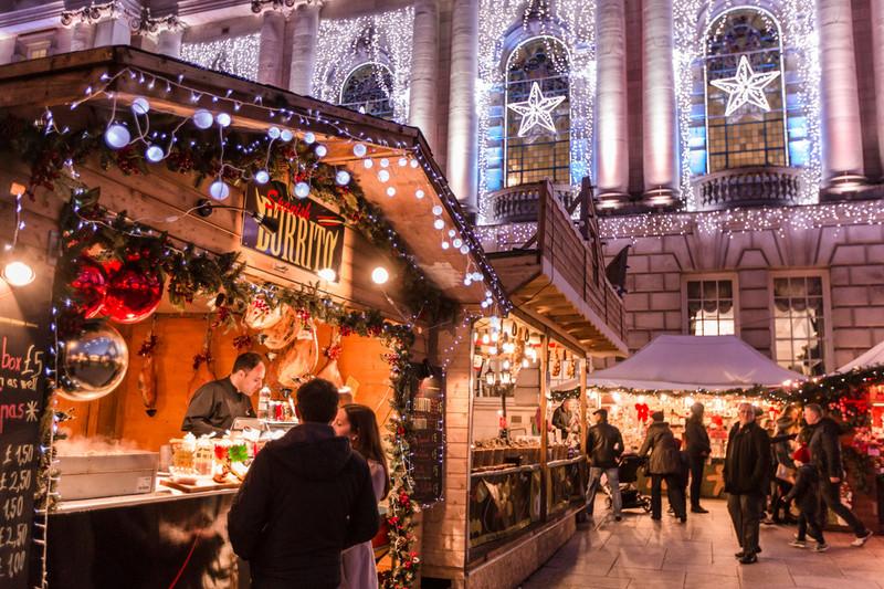 Festival stall in Belfast