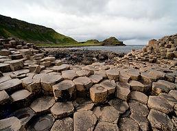 Hexagonal columns of the Giant's Causeway
