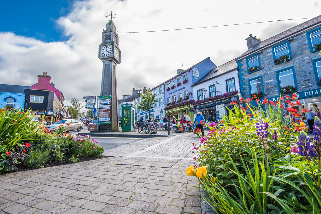 town square in Westport
