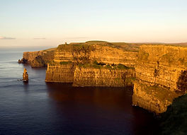 the cliffs of moher and stack
