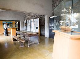 Inside Strokestown Park Famine Museum