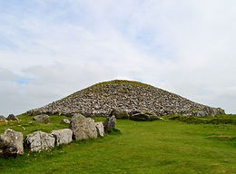 hilltop cairn at Loughcrew
