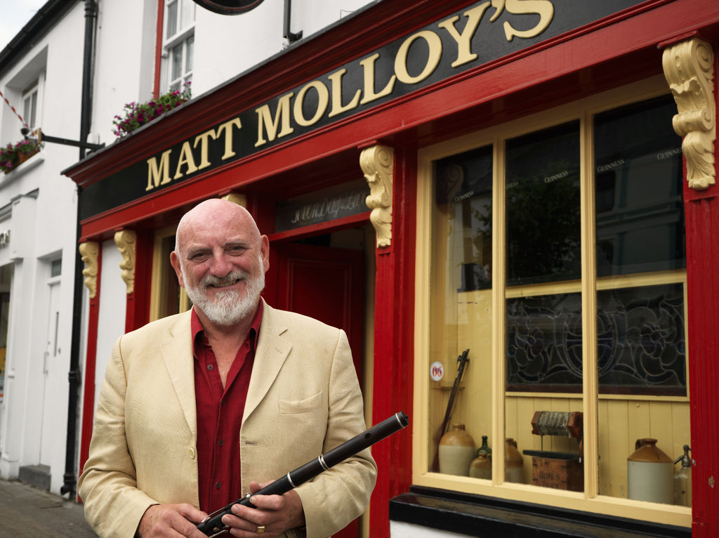 Fiddler at Matt Molloys Pub Westport