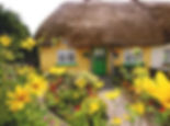 Thatched cottage in Adare, one of Ireland's prettiest towns