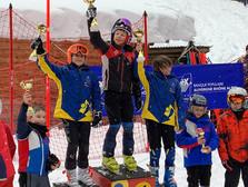 De jolis résultats pour le ski club