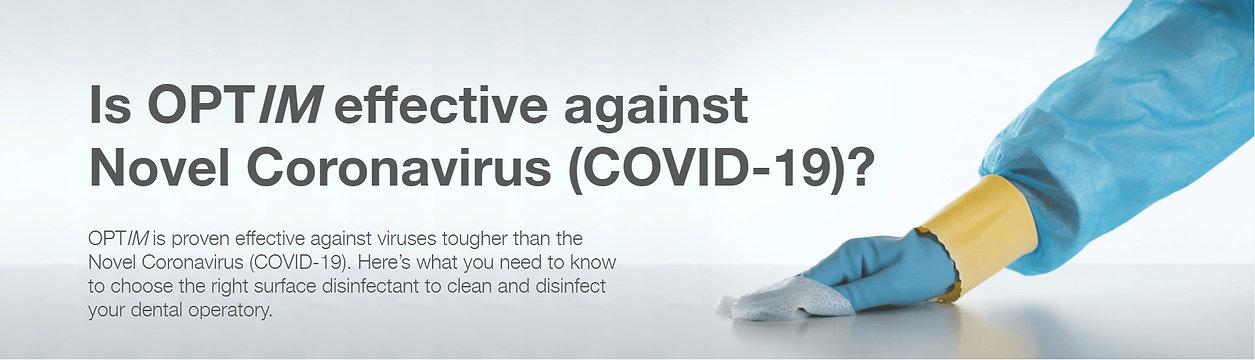 Optim 1 disinfectant