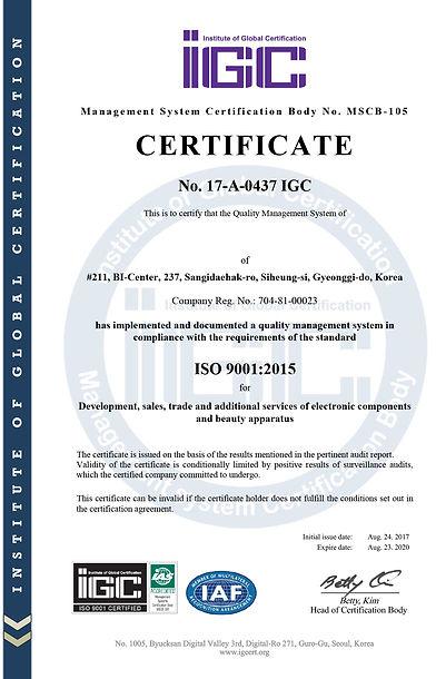 17-C-0177 ISO 14001 certificate_Rev3(en)