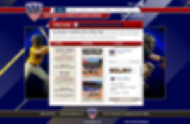 Youth Baseball Website