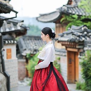 한복 스냅 - 韩服照片样本