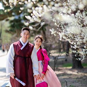 한복 샘플 사진 - 韩服样品照片