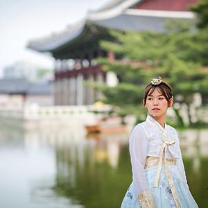 한복 스냅 - 韩服样品照片