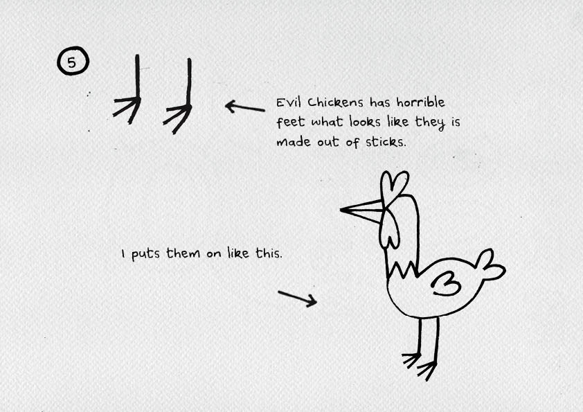 how to draw an Evil Chicken3.jpg