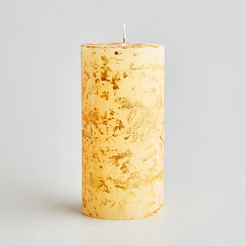 Large scented Christmas pillar candle
