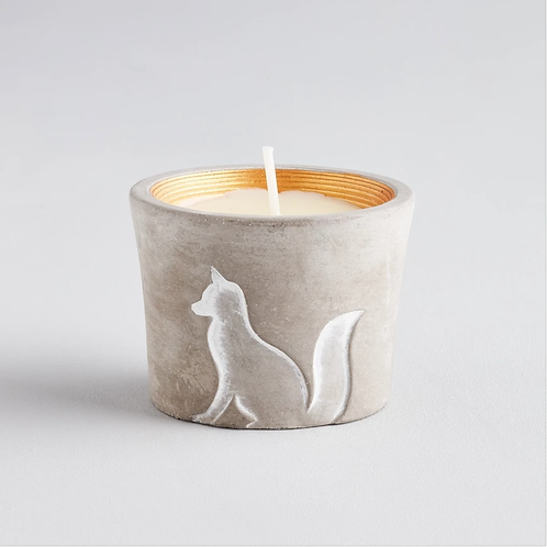 Fox tealight holder - scent Winter Thyme