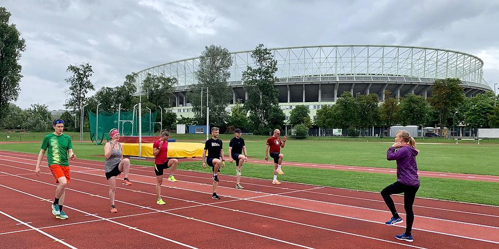 Laufbahntraining / Track Training