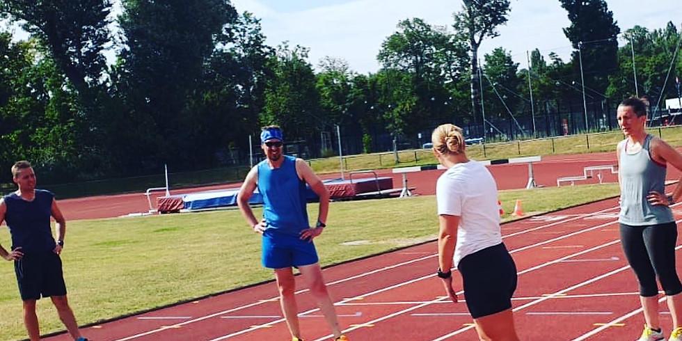 Laufbahn Track Training