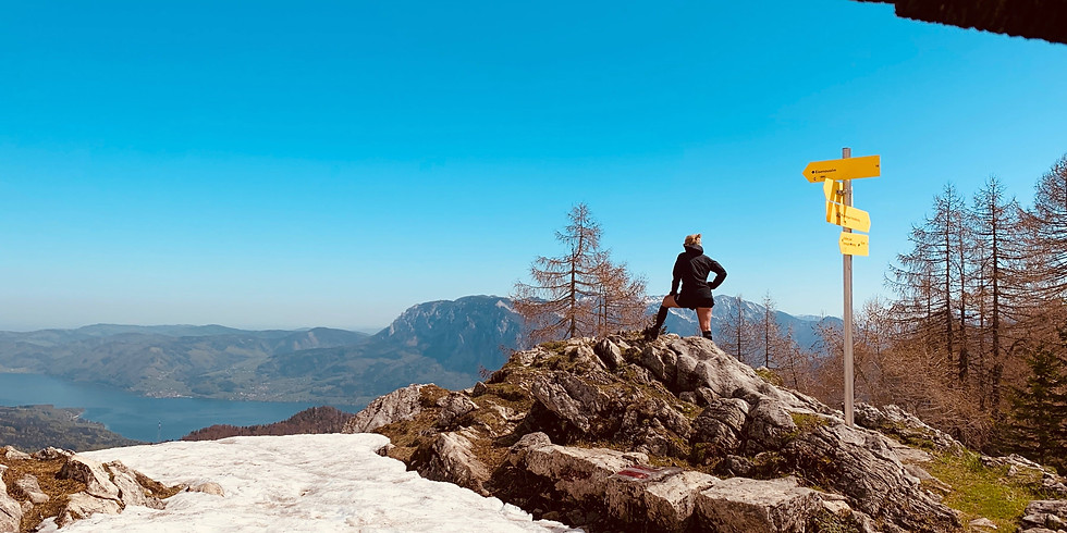 Wandertag mit Bergfex Hanni (USC Austria Vereinstraining)