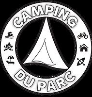 Medaillon-CampingDuParc ROND-NB.png