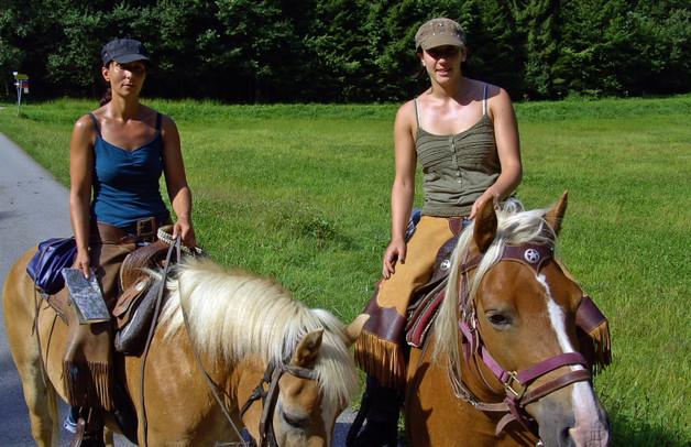 Uli und Ramona unterwegs