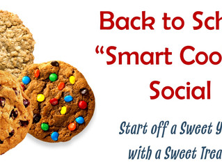 Smart Cookie Social on Thursday 8/24/17!