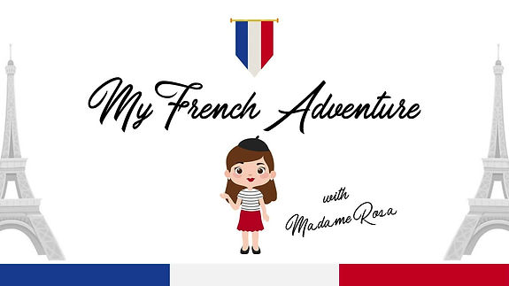 My French Adventure. Online French course for children.