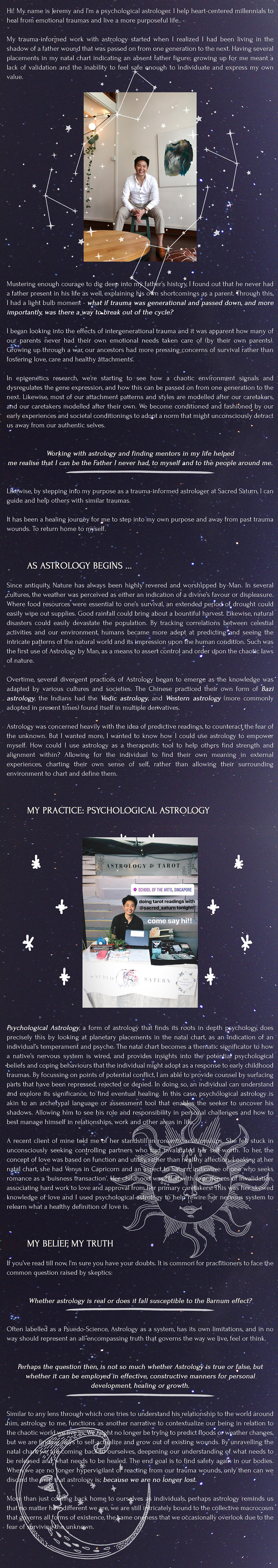 blurb magazine. blurbmag. astrology: the map back home to self. Jeremy Tan. opinion. @blurb.mag