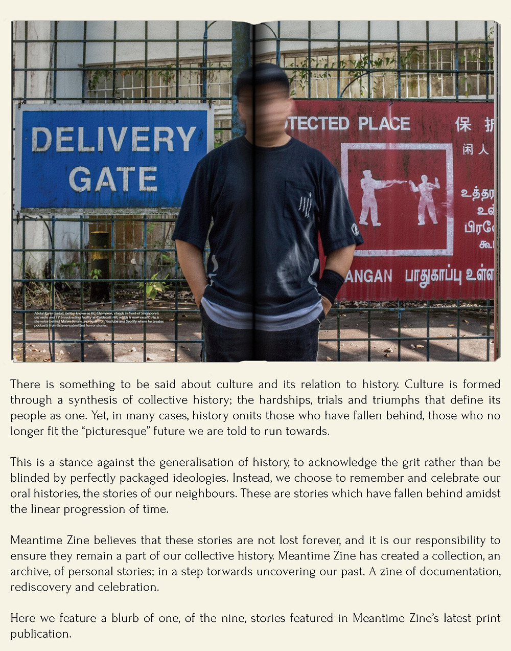 blurb magazine. blurbmag. a look into meantime zine, KC Champion. meantime. arts and culture. @blurb.mag