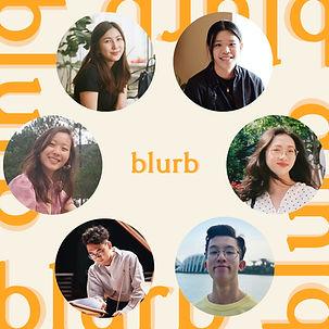 blurb magazine. blurbmag. blurb 2020 in retrospect. blurb team. arts and culture. @blurb.mag
