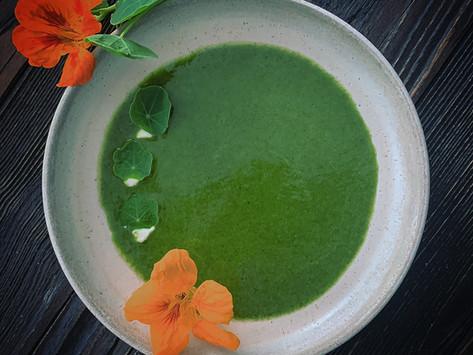 Prêts pour la soupe aux herbes ?