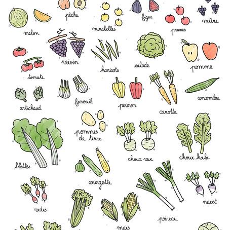 Légumes & fruits de septembre 🍄