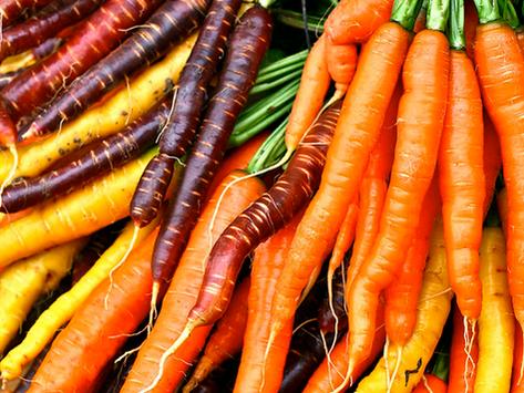 Tagliatelles de carottes au pesto de fanes de radis 🌿
